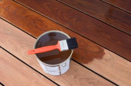 How to oil a mahogany deck