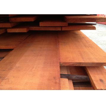 1x10 Genuine Mahogany Rough Sawn