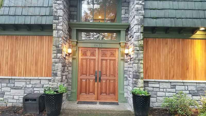 Fijian Mahogany tongue and groove siding ontario supplier green world lumber