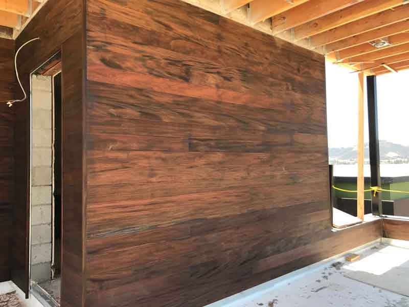 Genuine Mahogany siding custom made green world lumber