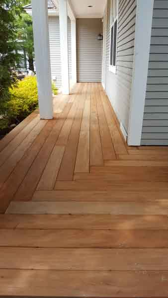 Mahogany decking untreated hardwood supplier in ontario green world lumber