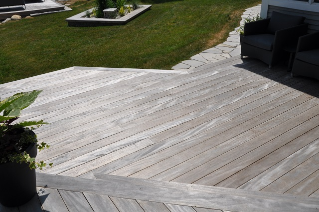 Mahogany turned silver grey hardwood supplier green world lumber