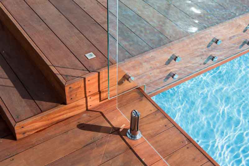 Hardwood mahogany decking supplier green world lumber